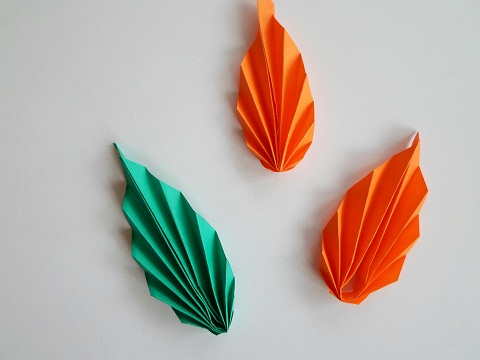 Как сделать листочки из цветной бумаги - Marbella-property.ru