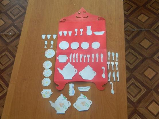 знакомство детей с декоративной посудой