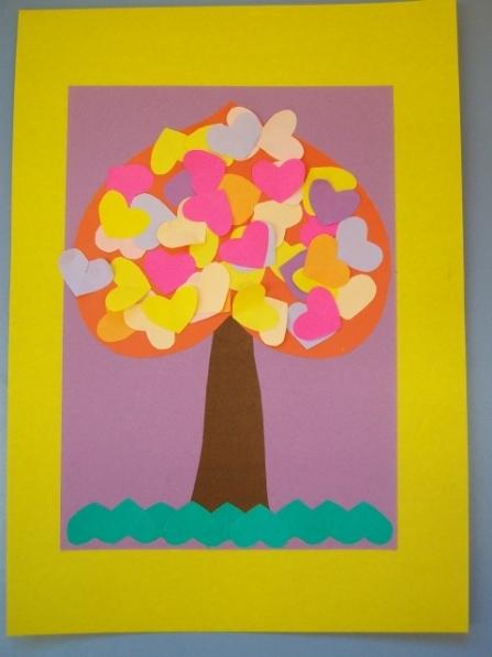 Аппликация открытка старшая группа, открытки