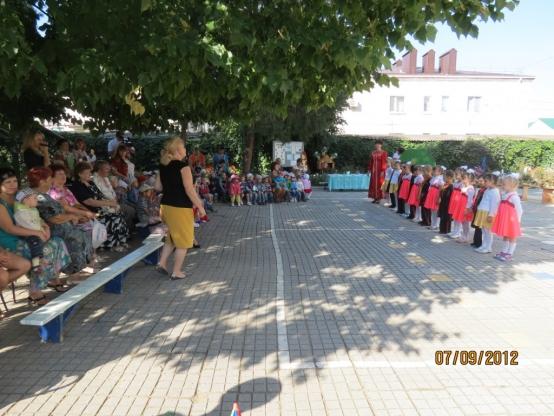 Кубанский праздник в детском саду, посвященный 75-летию со Дня образования Краснодарского края