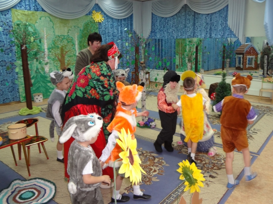 Детское театрализованное представление сценарий