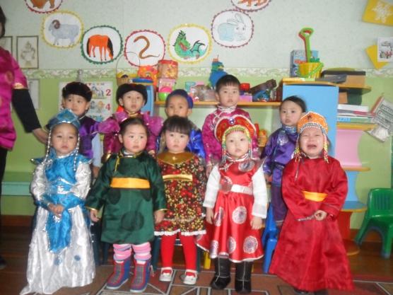 Тувинский национальный праздник «Шагаа» в детском саду