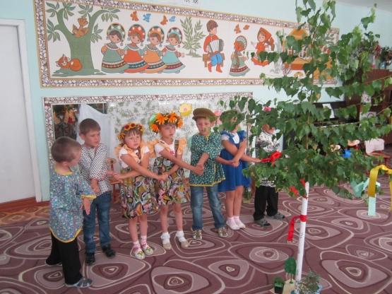 Игру плетень детский сад