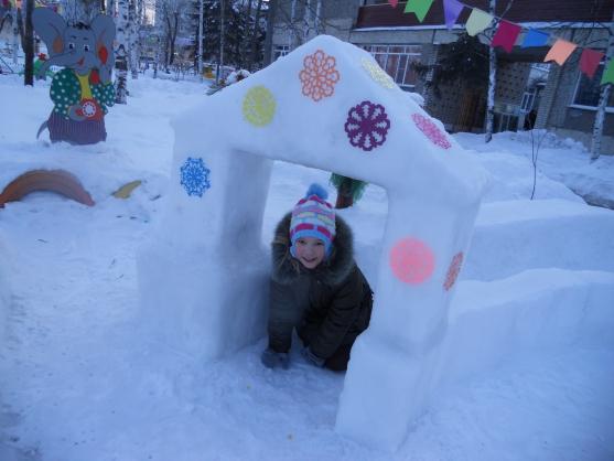 Для детей своими руками зимой