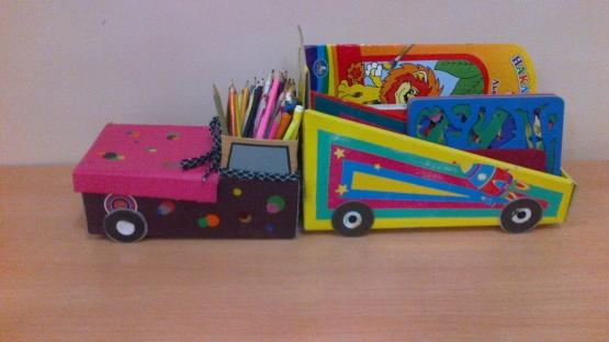 Подставка для карандашей в центр творчества