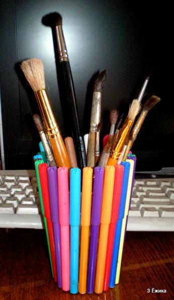 Поделки из ненужных карандашей
