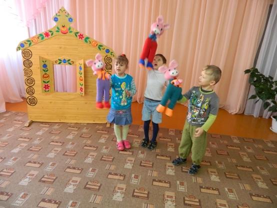 пальчиковый театр в играх драматизациях