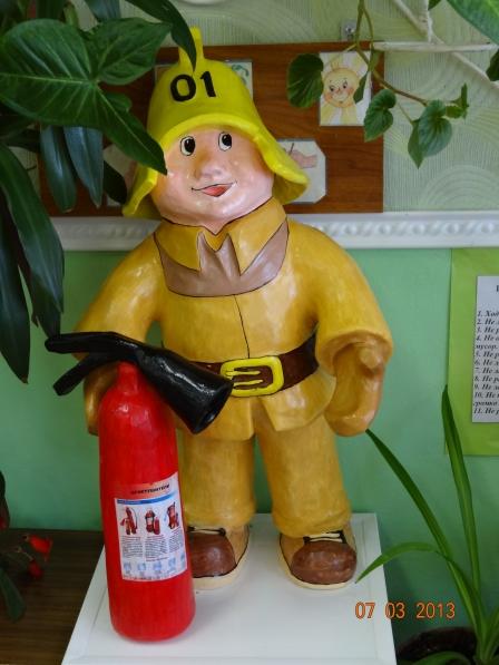 Поделка на тему пожарных
