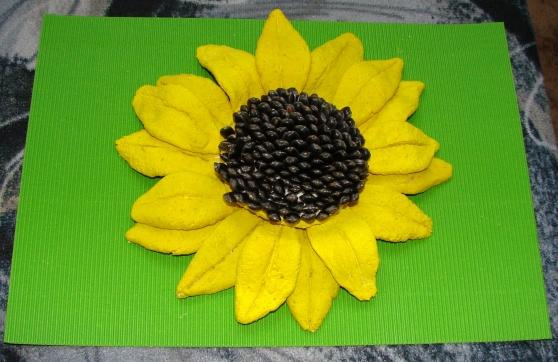 Поделки из семян подсолнуха своими руками фото