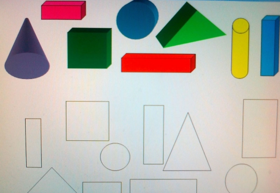 геометрических фигур и