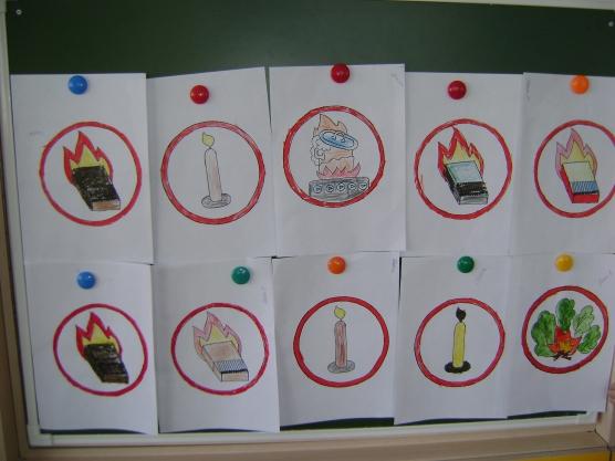 Творческие работы по теме Правила пожарной безопасности для детей  Творческие работы по теме Правила пожарной безопасности для детей