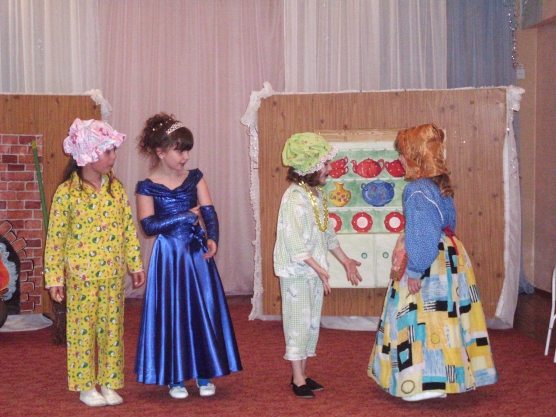 Золушка сценарий детский сад