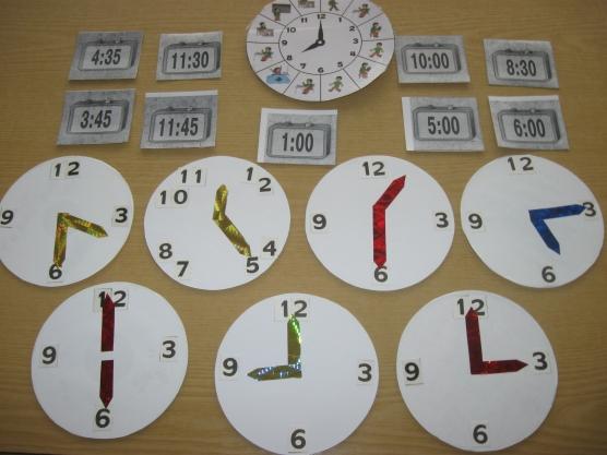 Дидактическая игра «Часы и время»