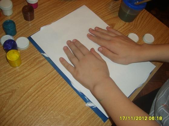 Рисуем на папиной пене для бритья. Монотипия. Воспитателям детских садов, школьным учителям и педагогам - Маам.ру