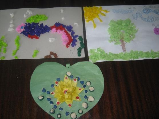 Детские работы учащихся группы продленного дня (2 класс)