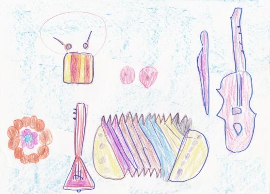 знакомство с инструментами и материал