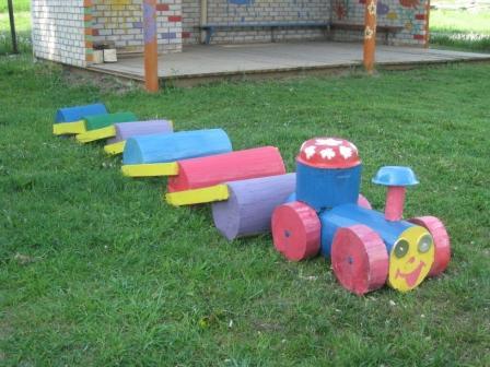 Поделки на участке в детском саду своими руками фото