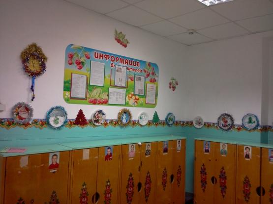 Наша выставка Новогодних тарелочек