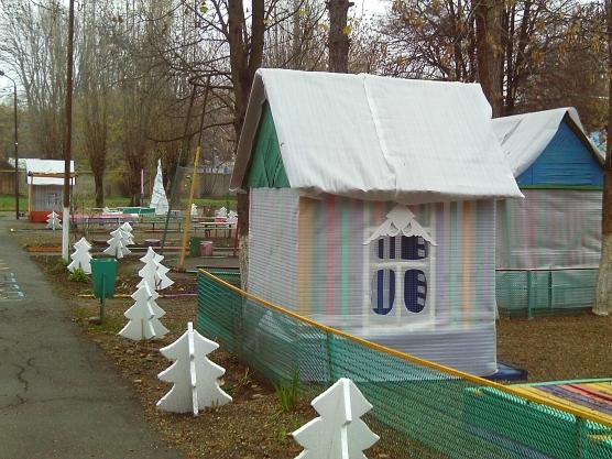 Оформление веранды детского сада своими руками зимой фото