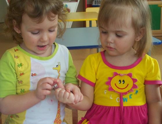 Детские сад пальчиковые