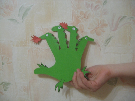 Поделка дракона для детей