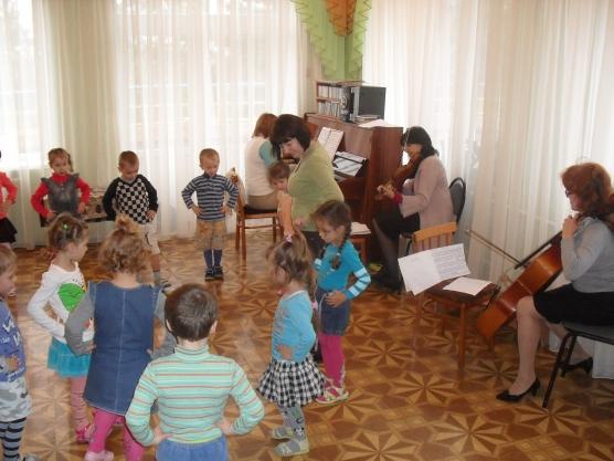 знакомство с гостями музыкальными нарезками