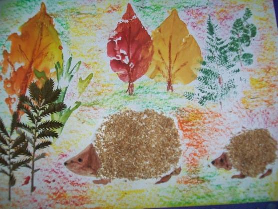 картинки детские работы осень
