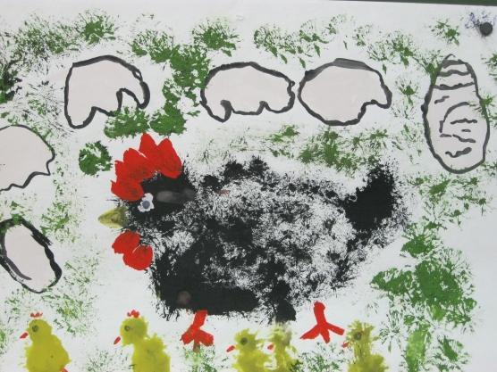Детские картинки о природе нетрадиционны способы рисования