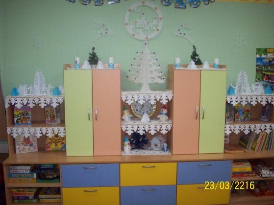 Новогоднее оформление групп в детском саду своими руками фото