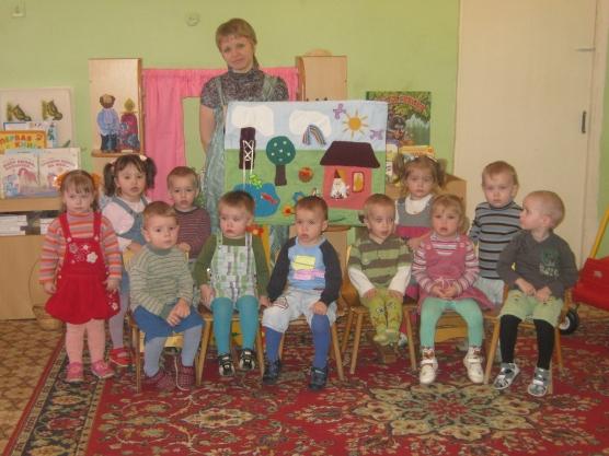 конспект занятия знакомство детей с цветом