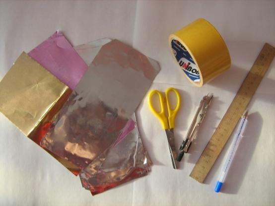Как сделать медаль из фольги и пластилина 126