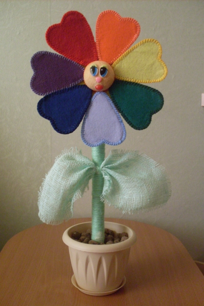 Волшебный цветок сделать своими руками