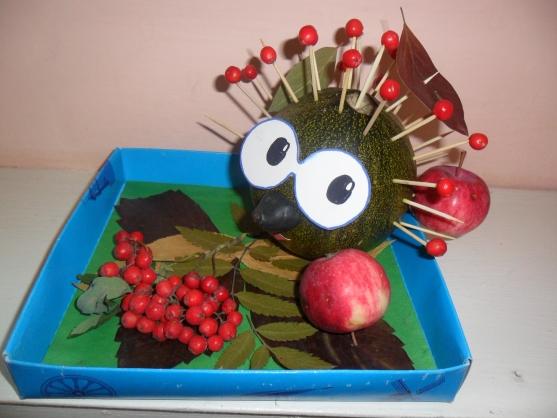 Поделки для детского сада из фруктов 40