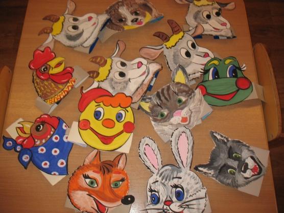 Театральные маски для детского сада своими руками - Nationalparks.ru