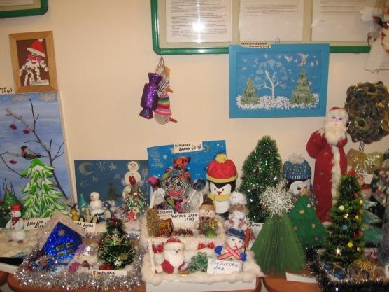 Выставка поделок в детском саду на новый год