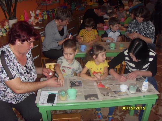 Родительское собрание совместное творчество родителей и детей в средней группе