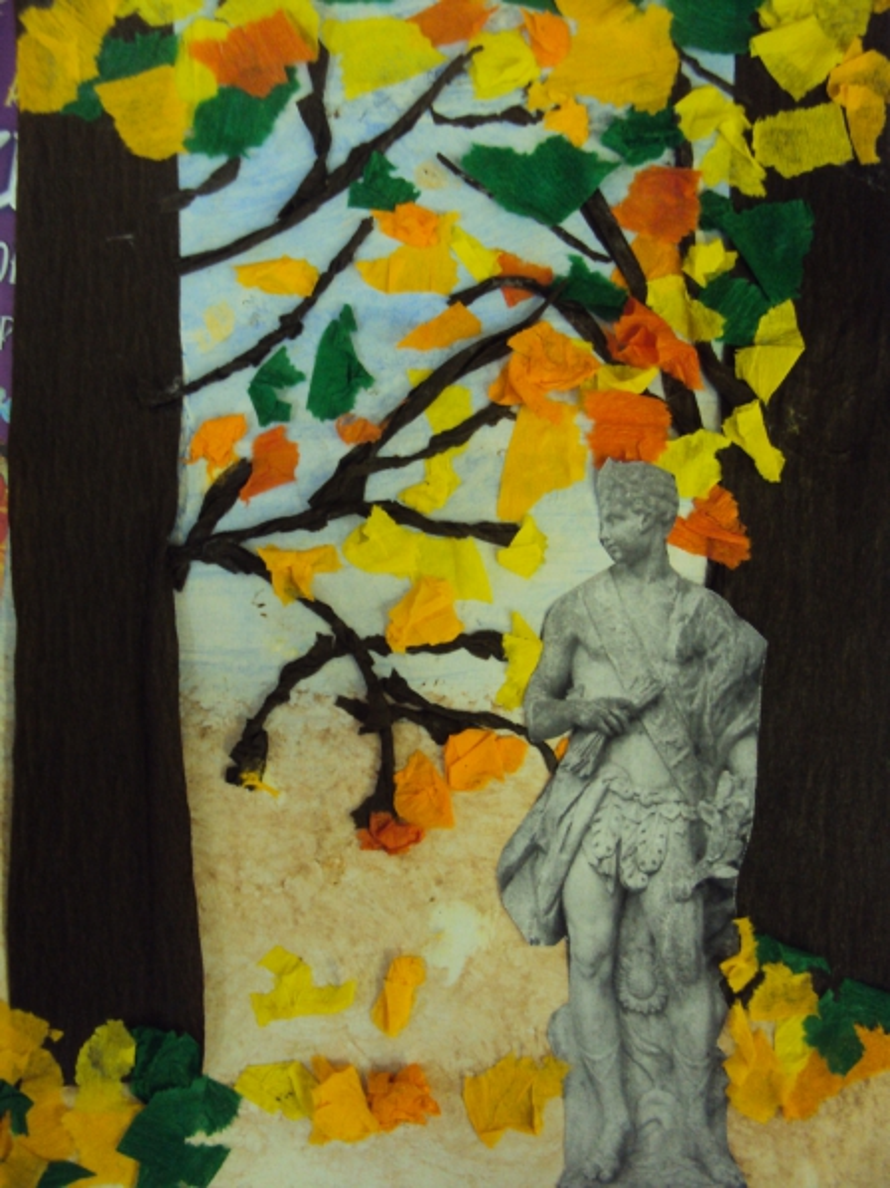 Мастер-класс по изготовлению творческой работы «Осень в Летнем саду» в старшей группе детского сада