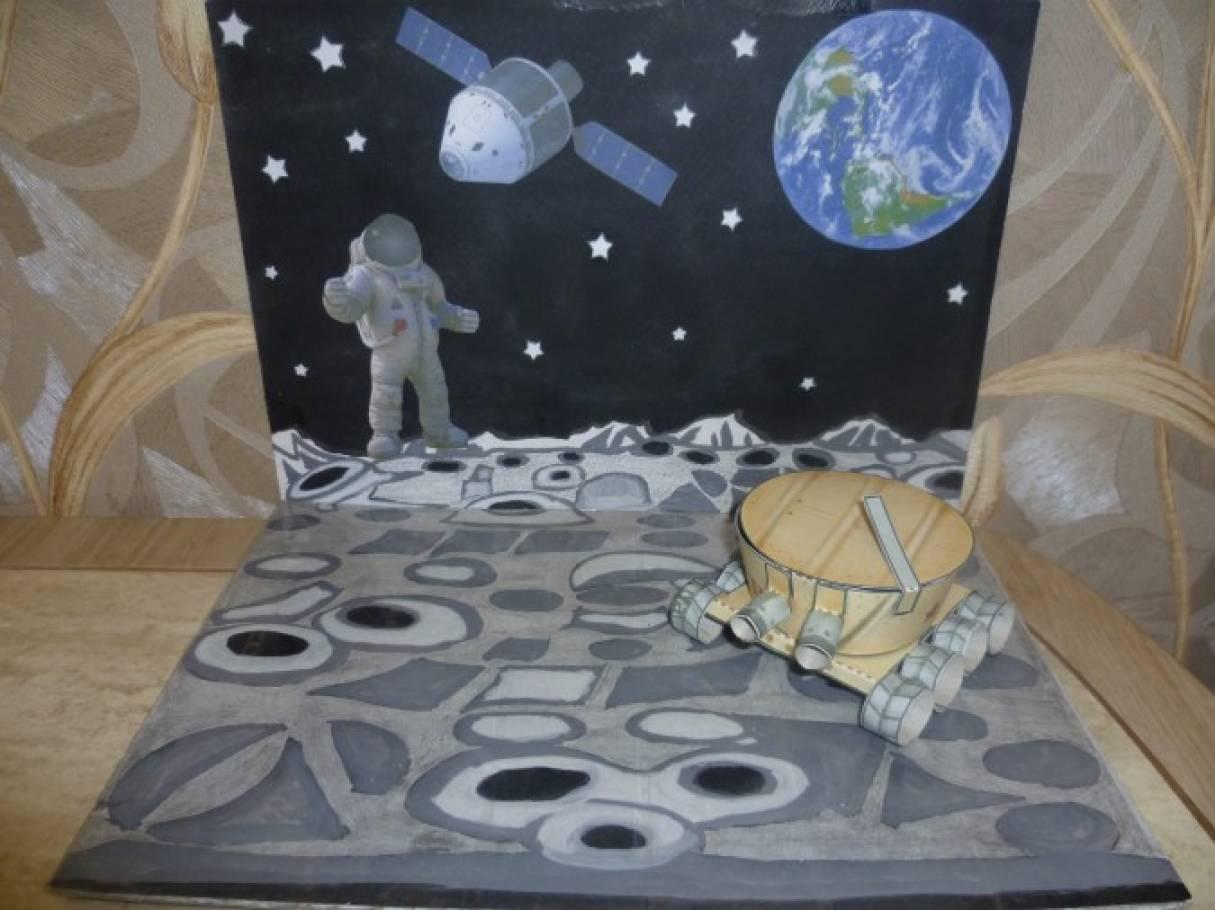 Макет космоса для детского сада своими руками 613