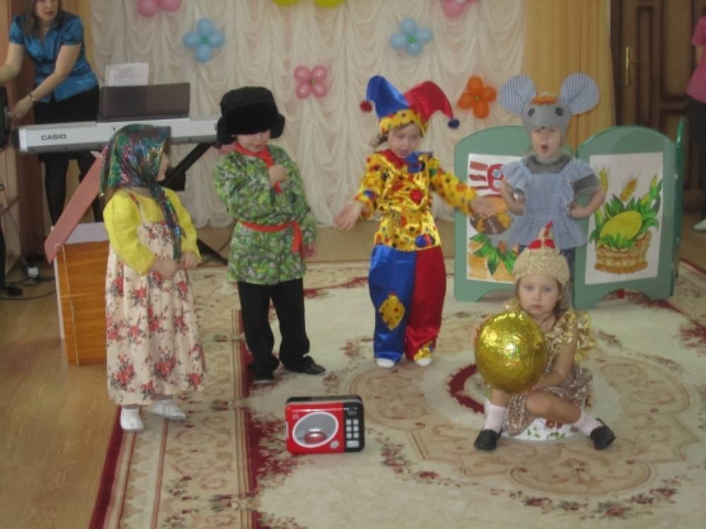 Сценарий сказок на новый лад в детском