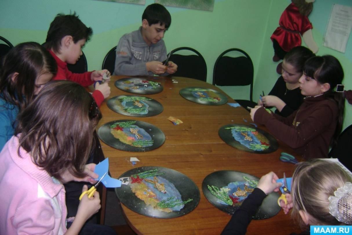 знакомство детей с аквариумными рыбками