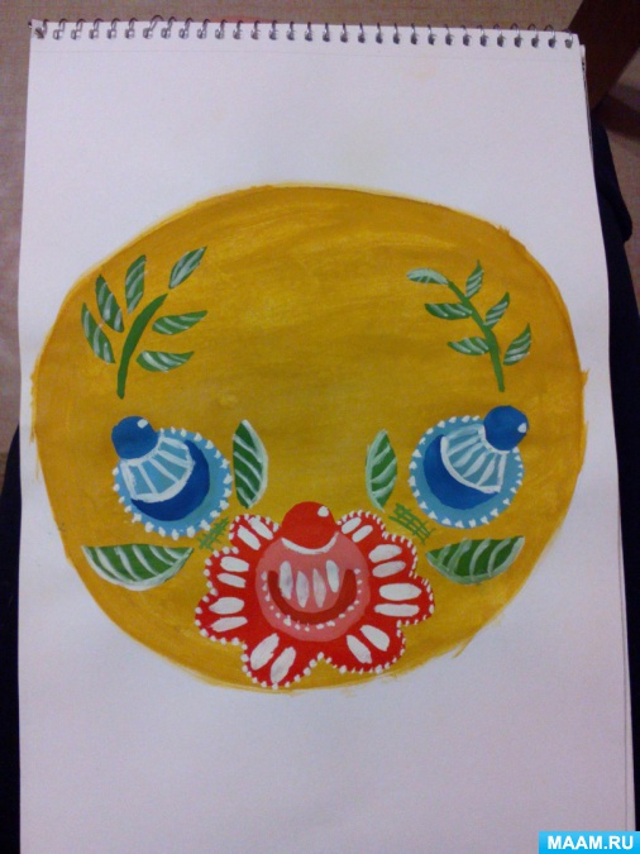 ООД по рисованию с детьми группы общеразвивающей направленности 6–7 лет