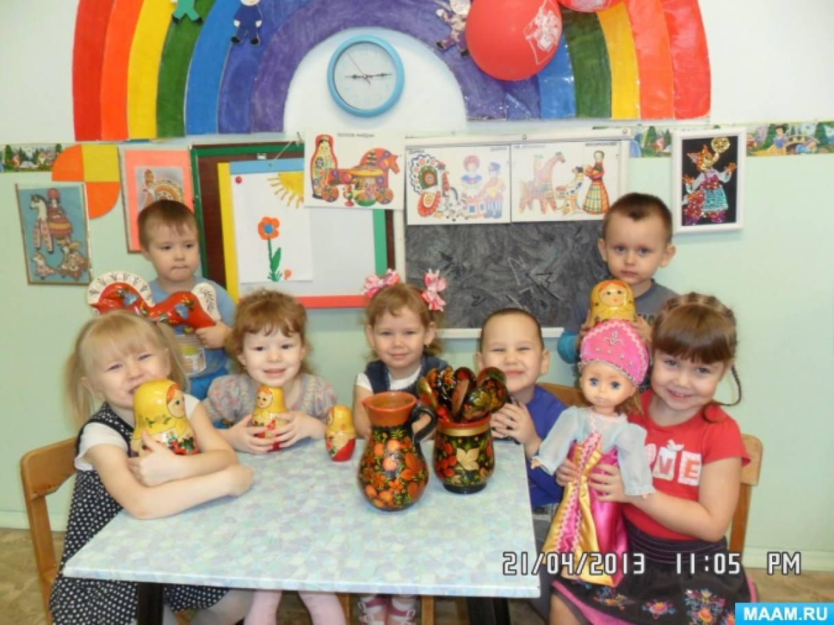 знакомство музыкальные инструменты занятие в детском саду