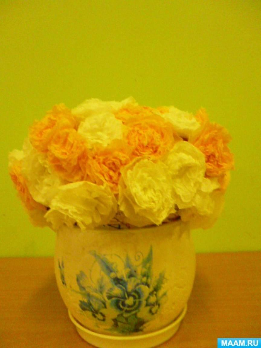 Мастер-класс «Розы для мамы»