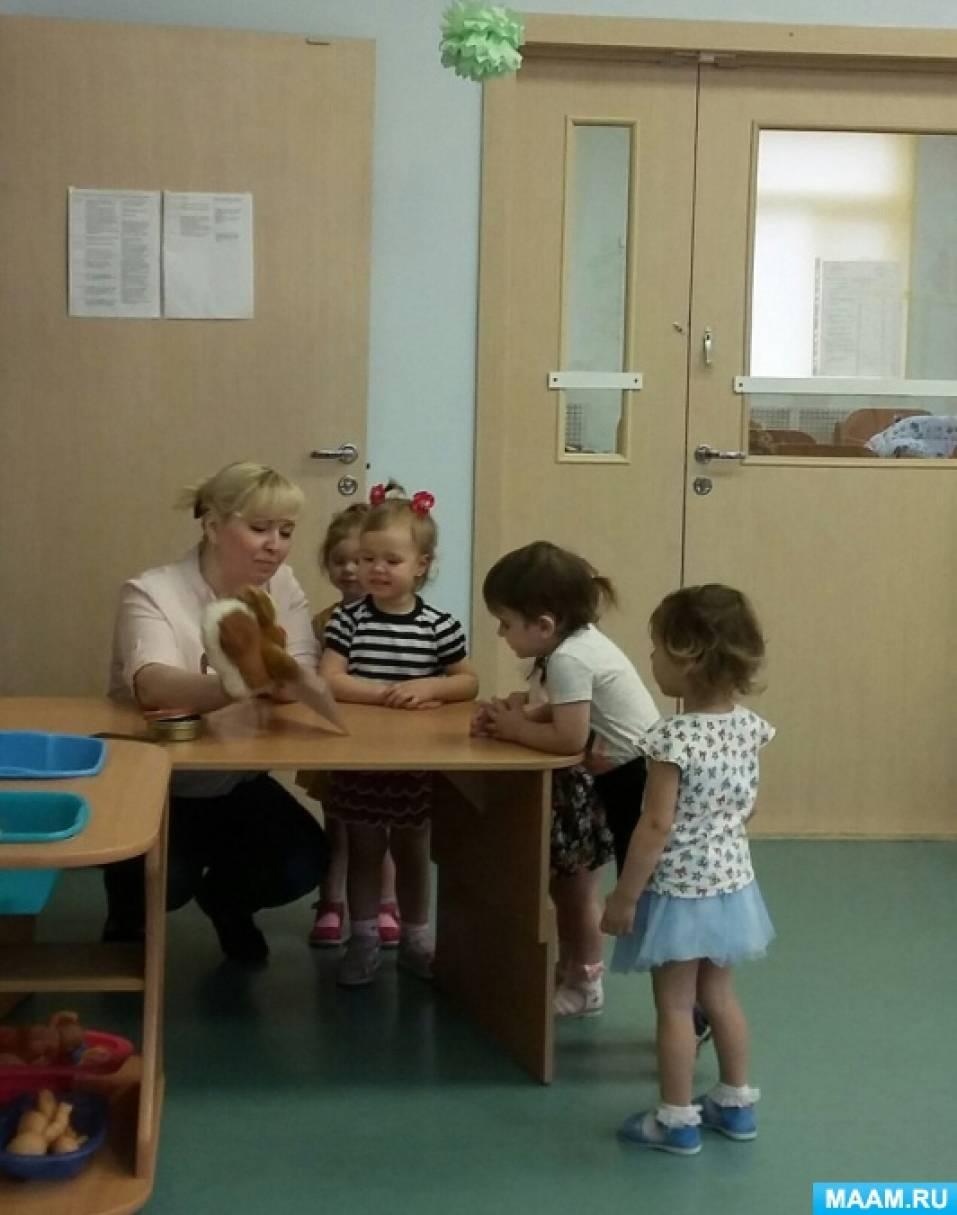Конспект интегрированной НОД по лепке из соленого теста в группе раннего возраста «День рождения Ёжика»
