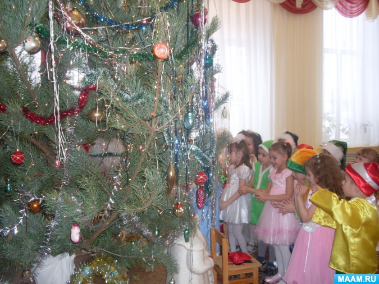 Новогодний утренник для детей старшего дошкольного возраста «Дед Мороз в гостях у ребят»