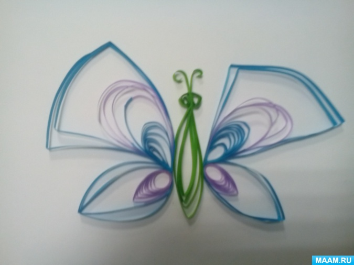План-конспект занятия по объемной аппликации «Цветы» в технике квиллинг