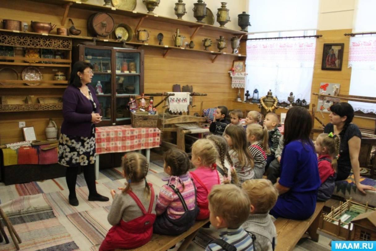 Экскурсия в Камышловский краеведческий музей (фотоотчёт)