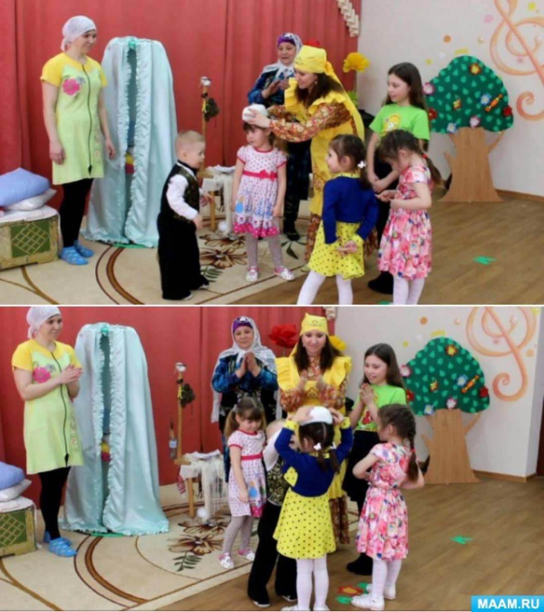 Программа проведения праздника «Рождение ребенка. Колыбельная»