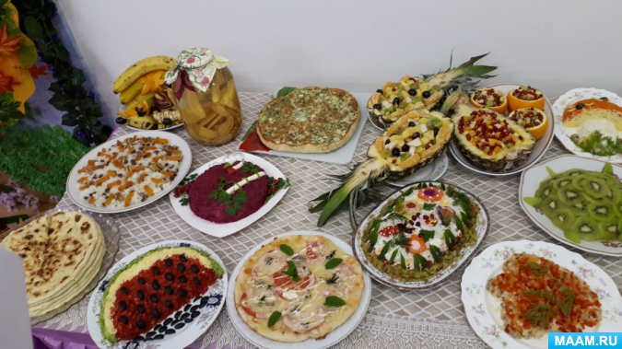 Фотоотчет о конкурсе на самое интересное блюдо «Ярмарка затей»