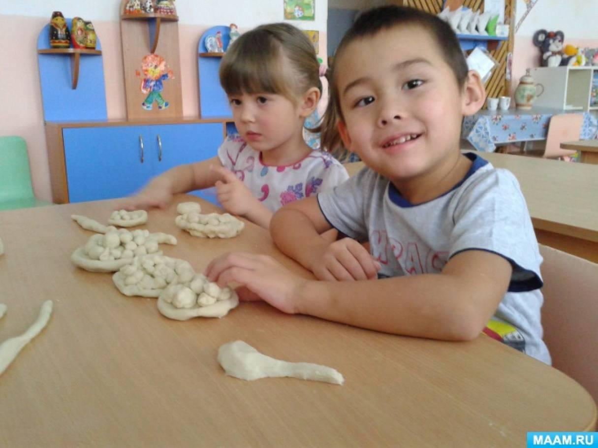 Тестопластика. Формы и методы ее использования в работе с детьми раннего и дошкольного возраста